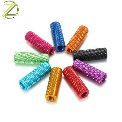 Color anode Knurled Standoff